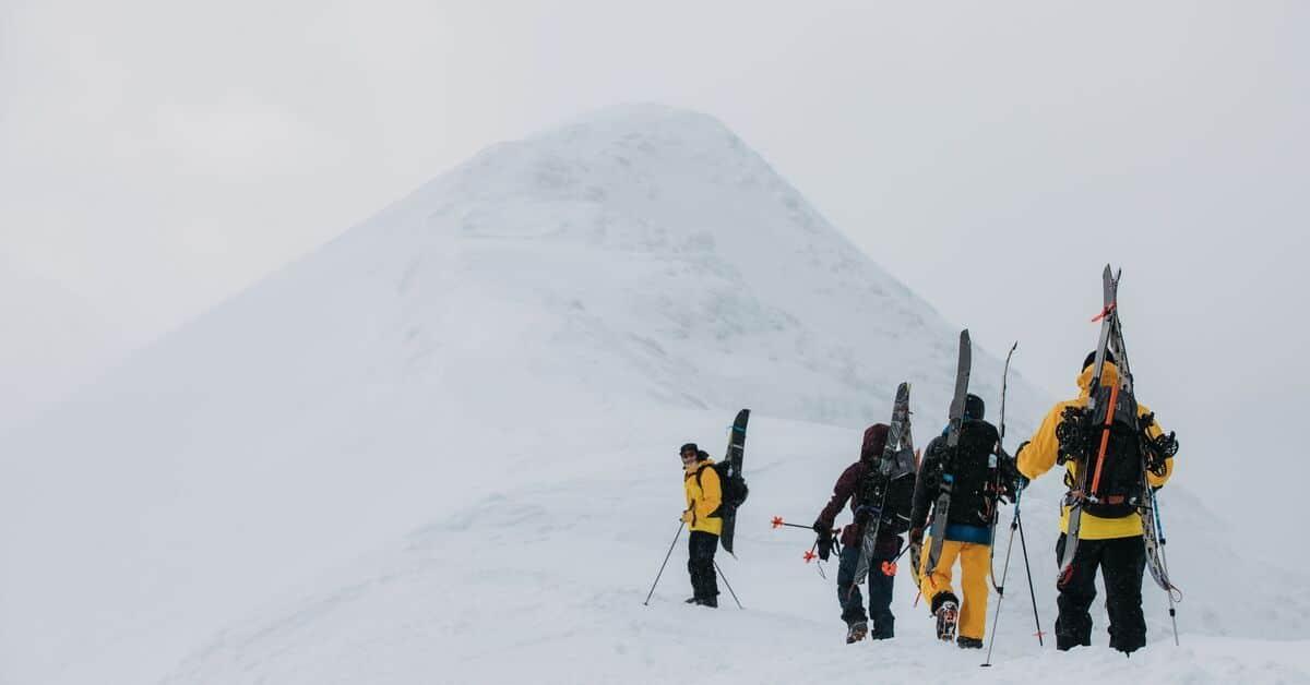 une sortie ski randonnée location a megeve